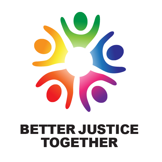 Image of the Better Justice Together logo