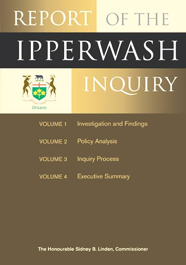 Report of the Ipperwash Inquiry