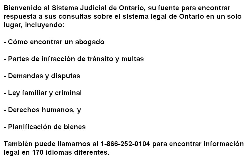 Justice ontario ministry of the attorney general justice ontario solutioingenieria Image collections